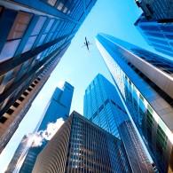 Город, небо, самолет
