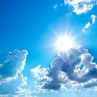 Летнее солнечное небо
