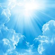 Яркое чистое небо