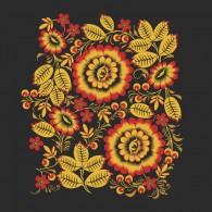 Петриковка золотые цветы