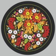 Петриковка орнамент с цветами