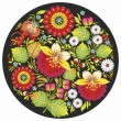 Узор петриковский с цветами
